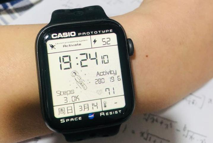 苹果手表太空人表盘怎么弄 iWatch太空人表盘壁纸设置图文步骤
