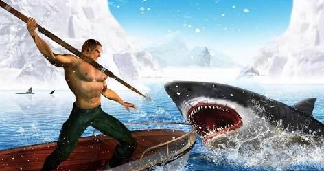 猎杀鲨鱼手游(模拟鲨鱼猎杀) v1 安卓版