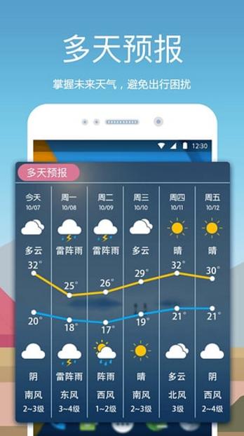 愛尚天氣官方版預覽
