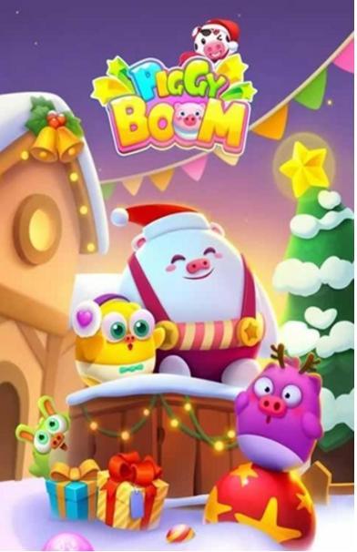 3d画面,超多呆萌可爱的小猪与你一起建造美好梦幻乐园,喜欢的玩家就来