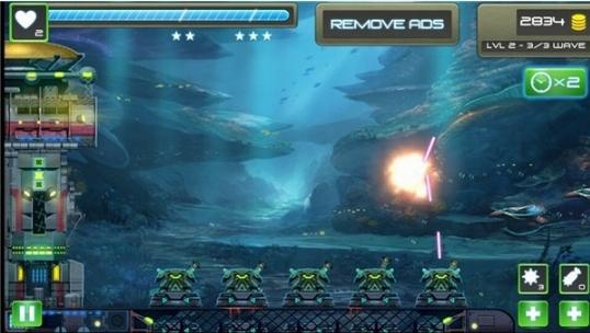 海底攻击塔防破解版|海底攻击塔防无限金币版下载