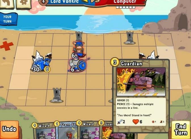 卡牌城堡官网版界面