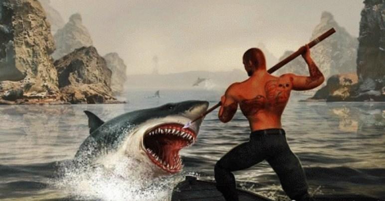 猎杀鲨鱼安卓版(跟大自然之间的搏斗) v1.0 官方手机版