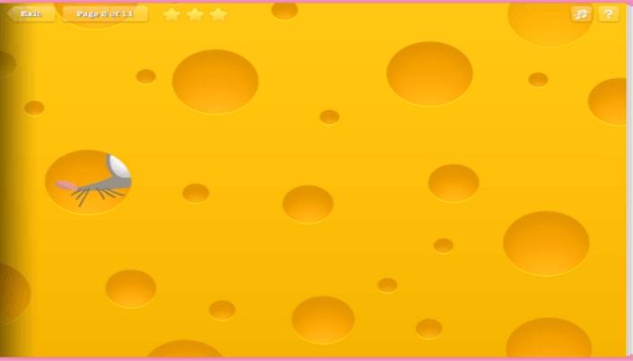 这款有趣的益智游戏很像小时候看过的动画片,画面质感堪称经典,老鼠在