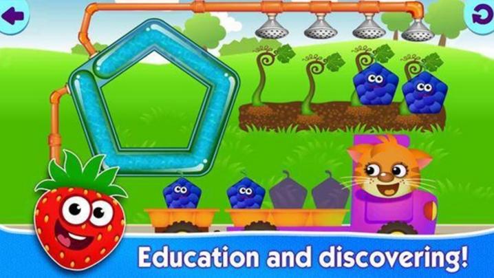 《有趣的食物2 funny food   2》是一款画风q萌有趣的教育休闲游戏.