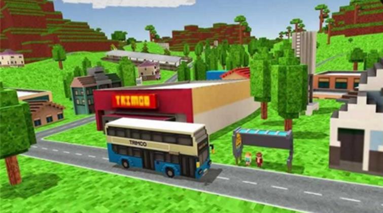 城市像素巴士模拟驾驶安卓正式版图片