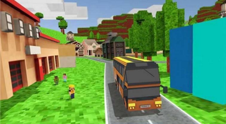 城市像素巴士模拟驾驶安卓正式版界面