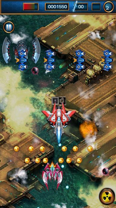 飞机射击手机苹果版下载(射击游戏)