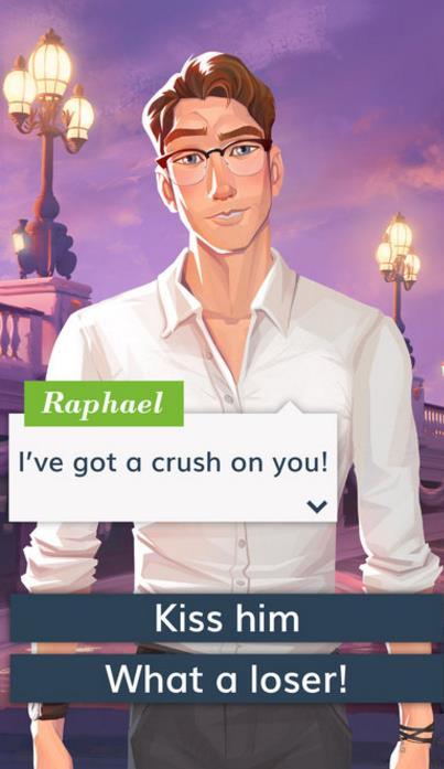 恋爱之城巴黎苹果版界面