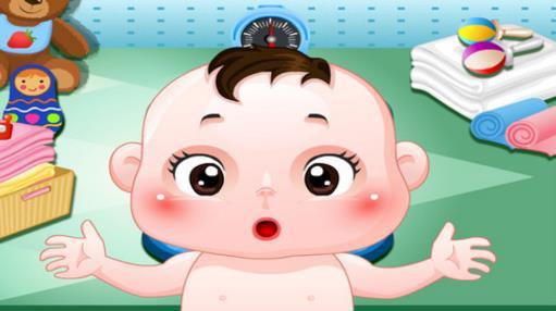 快乐宝贝洗澡ios版卡通可爱的风格,超简单的玩法会让小朋友超级入迷!