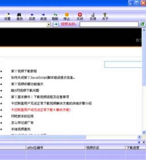 紫丫FLV视频下载器界面