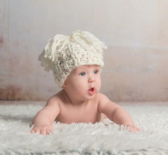 开心宝宝可爱图片