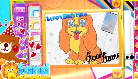 可爱的小熊,小狗,梦幻的人鱼公主,还有各类卡通人物!