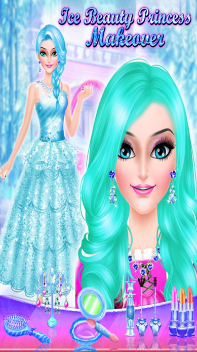 冰美丽公主化妆苹果官方版(女孩化妆的游戏) v1.0 ios手机版