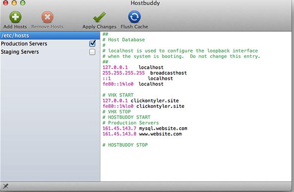 dy for Mac Hostbuddy Mac正式版下载 Host文件管理 v1.0.3 最新版