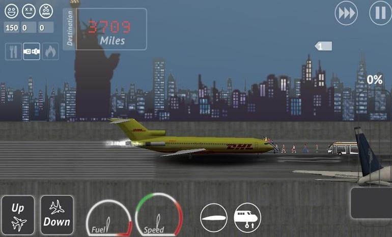 游戏 养成经营 > 波音客机模拟安卓版下载  - 圆滑处理,提升和驾驶