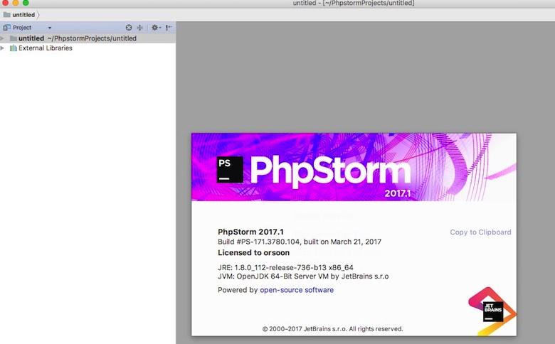 PhpStorm Mac激活码