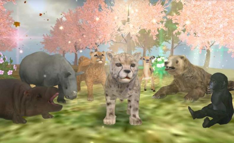 一个危及众多动物生命的在线游戏,在野生动物在线,你选择一个从20个