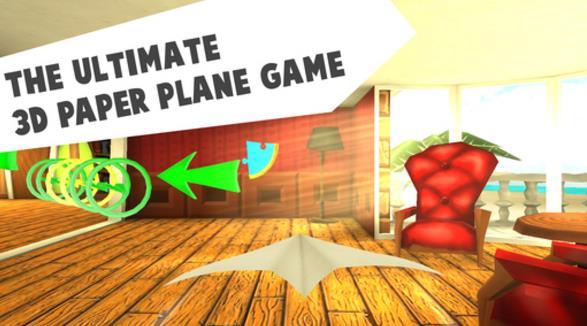 折纸飞机苹果手机版(休闲益智手机游戏) v2.1 ios正式版