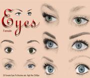 20款女人眼睛笔刷