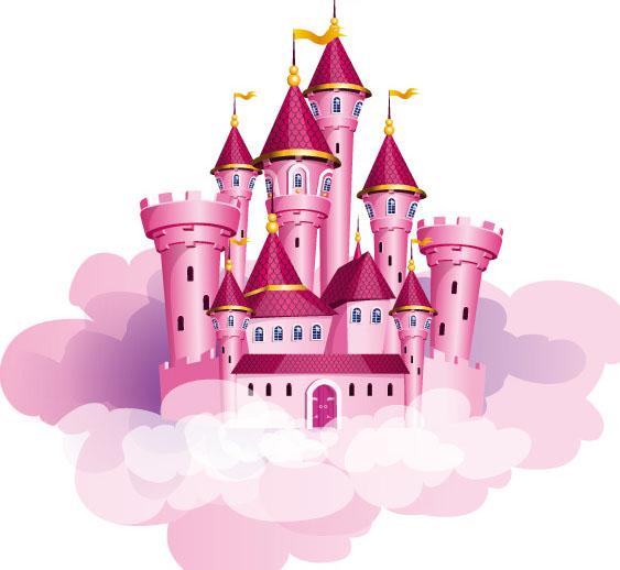 童话故事里的城堡,我相信是每个女孩都向往的地方,除了梦幻以外,还满足了自己的少女心。这款粉色梦幻城堡插画矢量素材以粉色为主色调,在粉红色云朵的上面,坐落着一个非常美丽的城堡,粉色代表着少女,我想这样一款城堡没有那个女孩不喜欢吧!详情还请见jpg素材,喜欢的小伙伴收藏下载吧!
