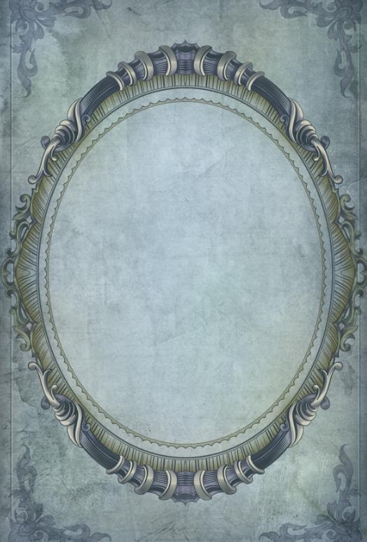 这款 复古椭圆形花纹边框psd素材,风格有点偏欧式,低调但是又很奢华