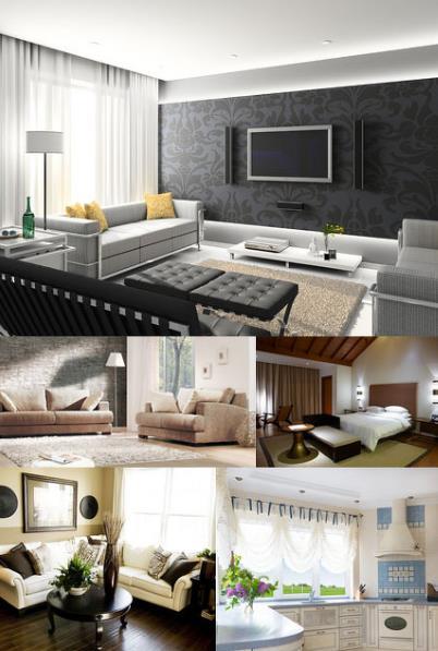 室内设计装修高清图片素材