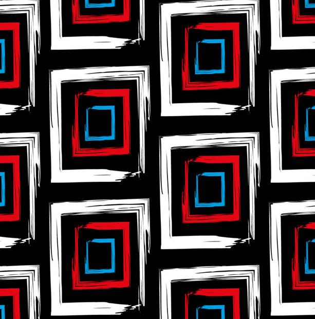 抽象回形背景设计矢量图