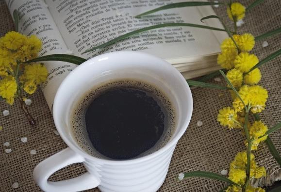 书与咖啡唯美意境高清素材图片图片