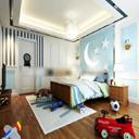 儿童卧室3Dmax模型