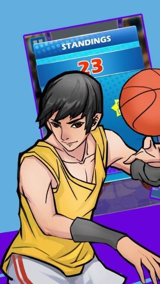 街头自由篮球游戏手机版(30秒快速上手) v1.0 安卓版图片
