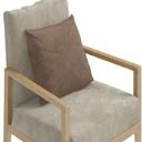 单人布艺沙发模型