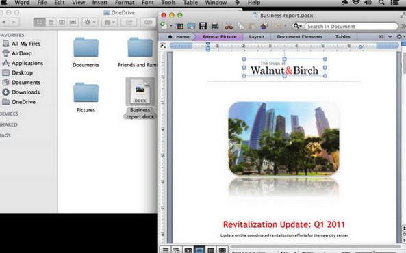OneDrive Mac版