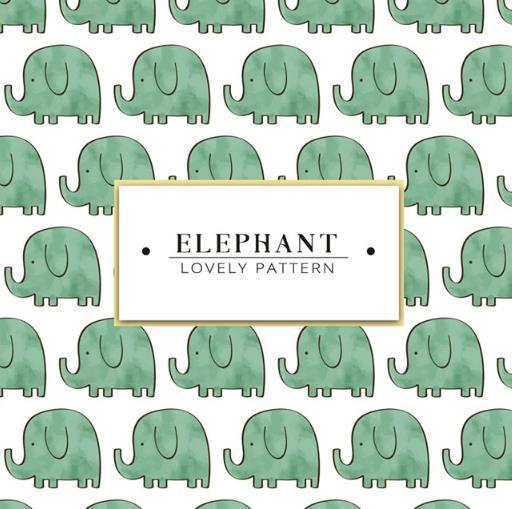 大象可是人类的好朋友,那么小编为设计者们准备的这款彩绘绿色大象背景矢量素材就是以长鼻子的大象为背景设计的元素,其中大象的造型可是以卡通萌萌哒设计而来,常常的鼻子加上小短腿简直太可爱了,而且还是以绿色为主题设计的大象整体颜色哦,中间白底黑色字体也是非常突出的。