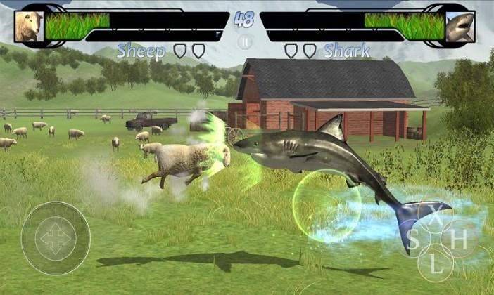 Animelee是一款以动物的世界为背景的闯关类格斗动作手机游戏,这款游戏中你将能够尽情的释放出动物的野性,场面比较的壮观哦! 玩家需要在各种不同的环境下操控自己选择的动物和对手进行战斗。本作中目前有12种不同的动物,包括老鹰、长颈鹿、袋鼠等不同的生物。 每种动物都有各自不同的战斗风格,玩家需要磨练自己的技术,并选择最适合自己的动物。官方还宣布将会在日后更新更多的新动物。