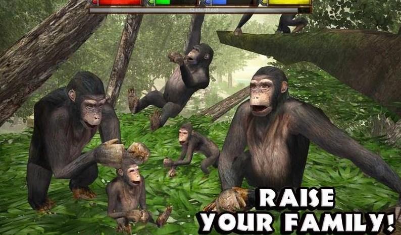 丛林动物模拟器安卓版(10动物可以选择) v1.1 最新免费版