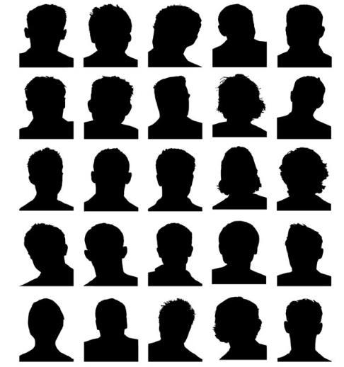 首页 资源下载 平面素材 矢量素材 人物 > 男子头像黑白色剪影设计ai