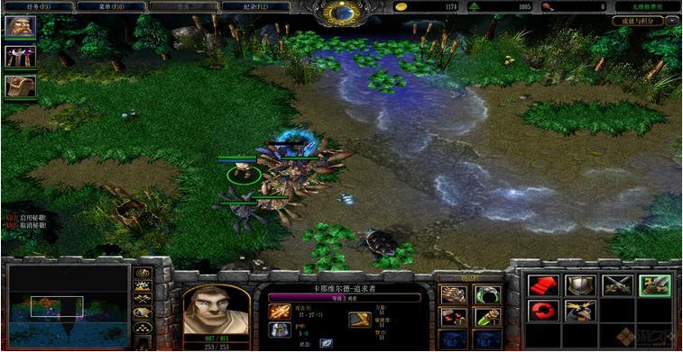 pinue之战魔兽地图