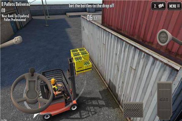 3d叉车模拟驾驶游戏手机版下载