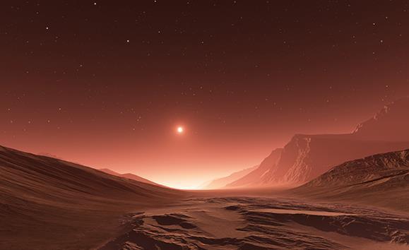 外星球风景高清图片下载