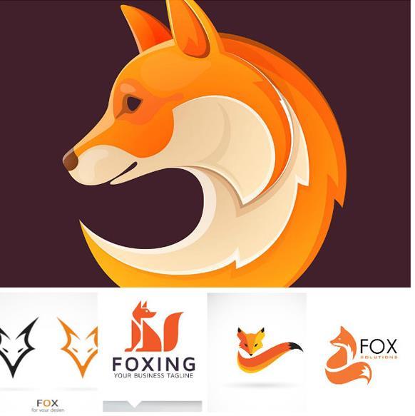 无论是公司logo还是个人企业名片可以运用到这款狐狸形象标志logo矢量图片素材,其中设计了5款不同造型的狐狸标志素材造型,每个狐狸造型都是独特的,同样也是抽象设计的一种,用作名片或是logo标志都是一个不错的选择,其中加入了更多创意元素,需要就来下载吧。