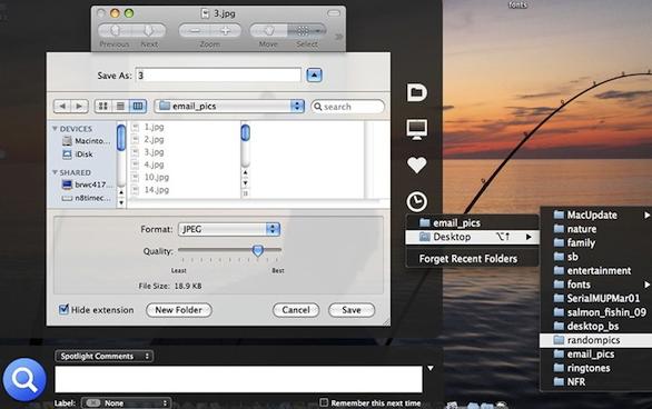 Default Folder X for Mac