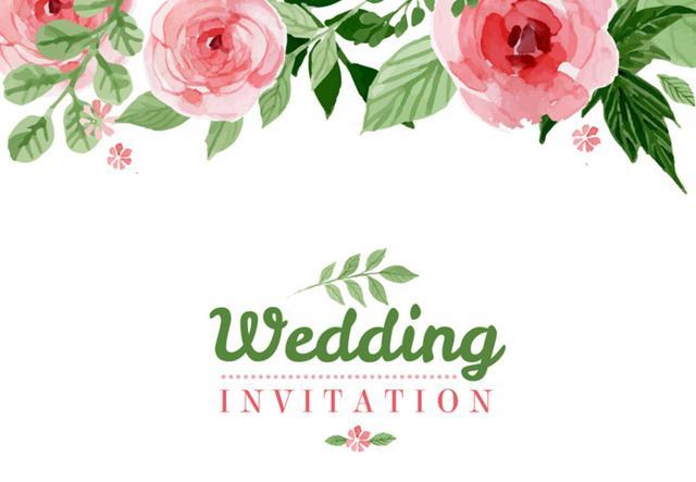 首页 资源下载 平面素材 矢量素材 设计 > 水彩花卉婚礼邀请海报ai
