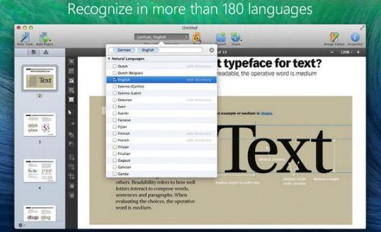abbyy finereader ocr pro mac版 (文档转换ocr软件) v12.1.5 免费版
