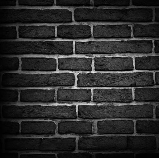平面素材 矢量素材 设计 > 黑色仿真砖墙背景设计ai素材下载  以墙砖