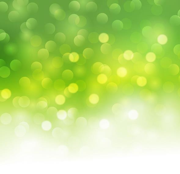 唯美绿色光斑背景矢量图片素材