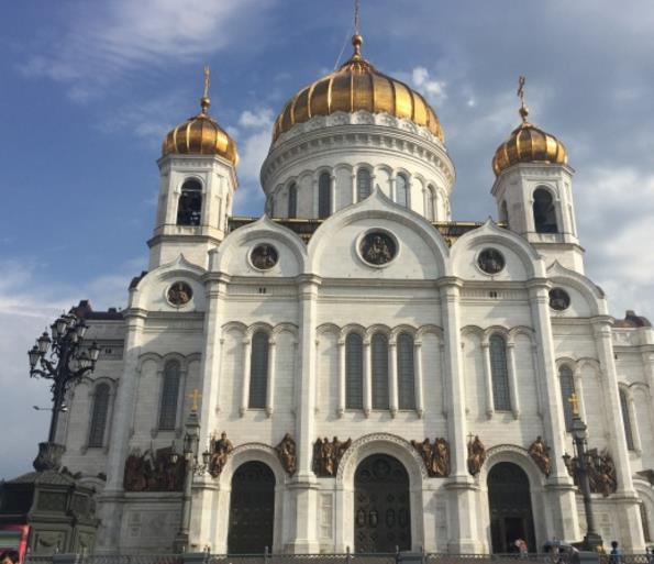 平面素材 精美图片 建筑 > 俄罗斯金顶教堂精美大图下载  西方国家的