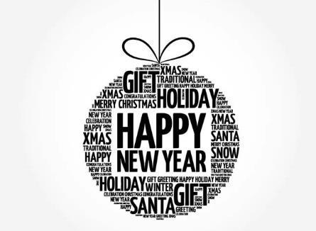首页 资源下载 平面素材 矢量素材 节庆 > 黑白色圣诞新年艺术字吊球