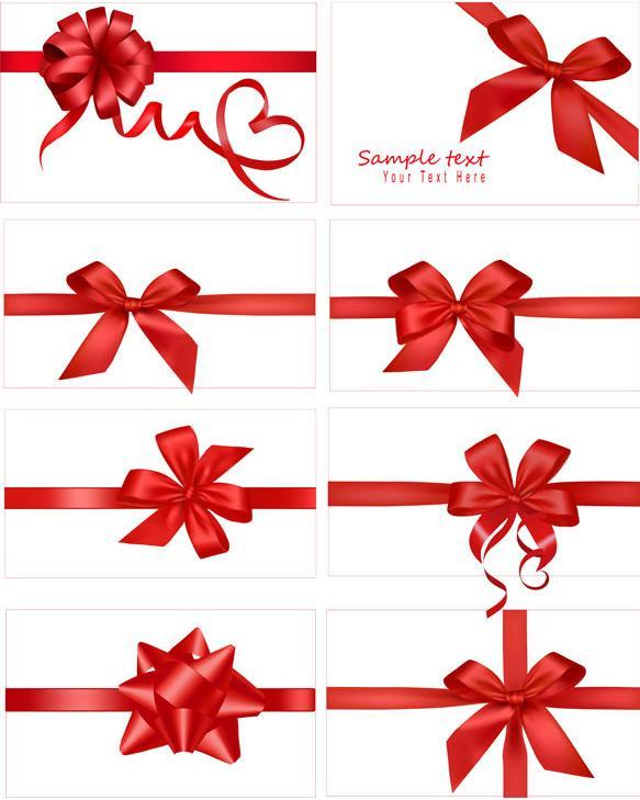 礼品盒或是蛋糕盒上都是以非常好看的蝴蝶结为主题设计的,喜庆礼品红色蝴蝶结矢量图片素材中就为大家带来了8款不同造型的蝴蝶结系法,而且在节庆,喜庆典礼还有礼品盒,包装中都会出现的丝带蝴蝶结,都是以喜庆的红色设计而来的,背景设计为白色,需要就来本站下载吧。