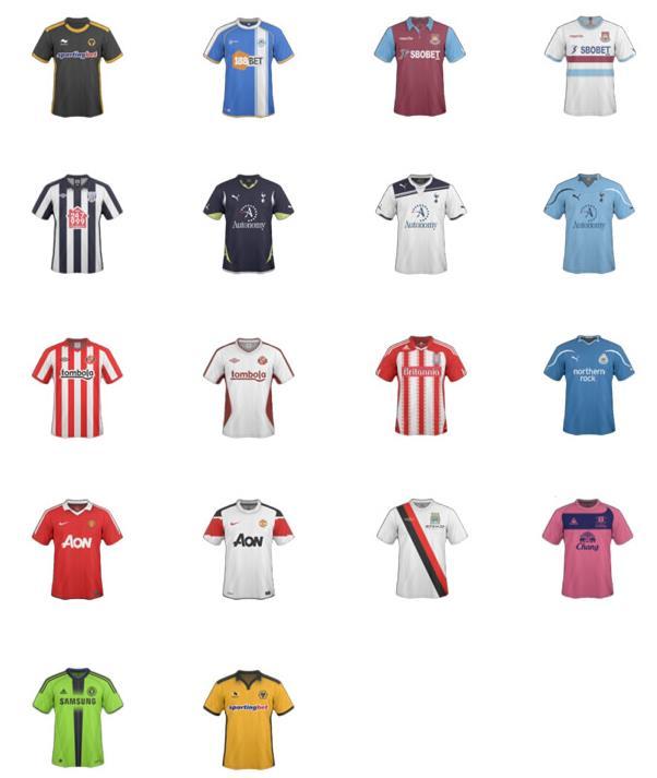 彩色足球队服ico图标图片